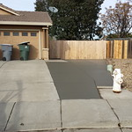 Driveway Extension In Vacaville