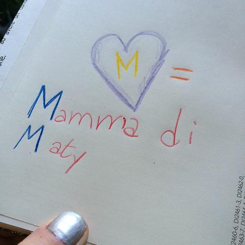 A surprise in my daily planner:) so sweet:) Una sorpresa nella mia agenda:) così dolce:)