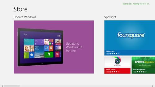Windows 8 Pre-installed มาให้ แต่อัพเกรดเป็น Windows 8.1 ได้ฟรี
