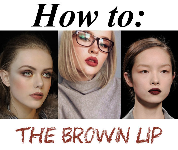 brown lipstick: review and tutorial