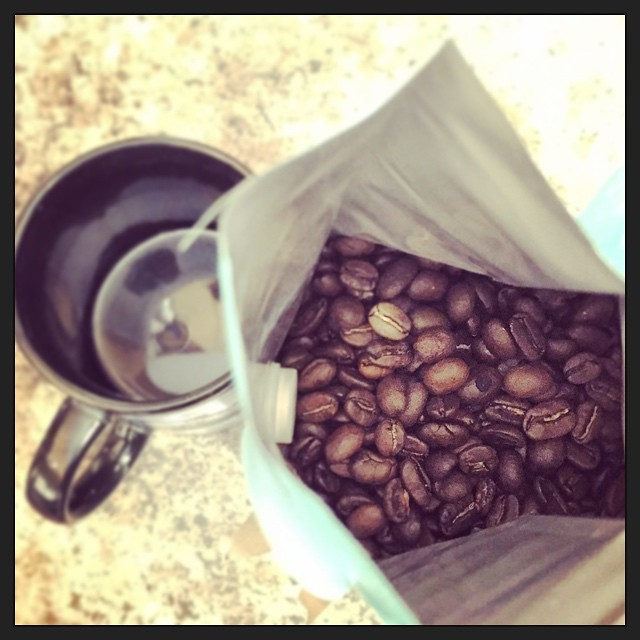 New year. New pound of coffee. #taralovesmornings