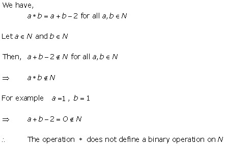 RD Sharma Class 12 Solutions Chapter 3 Binary Operations Ex 3.1 Q1-iii