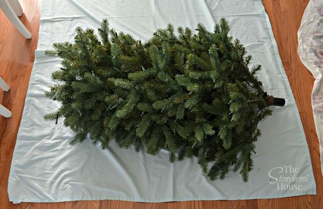 Gauging Size of Tree for Storage Bag