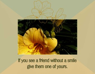 If You See A Friend... quote.