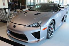 automobile(1.0), automotive exterior(1.0), wheel(1.0), vehicle(1.0), lexus lfa(1.0), performance car(1.0), automotive design(1.0), lexus(1.0), rim(1.0), bumper(1.0), land vehicle(1.0), coupã©(1.0), supercar(1.0), sports car(1.0),