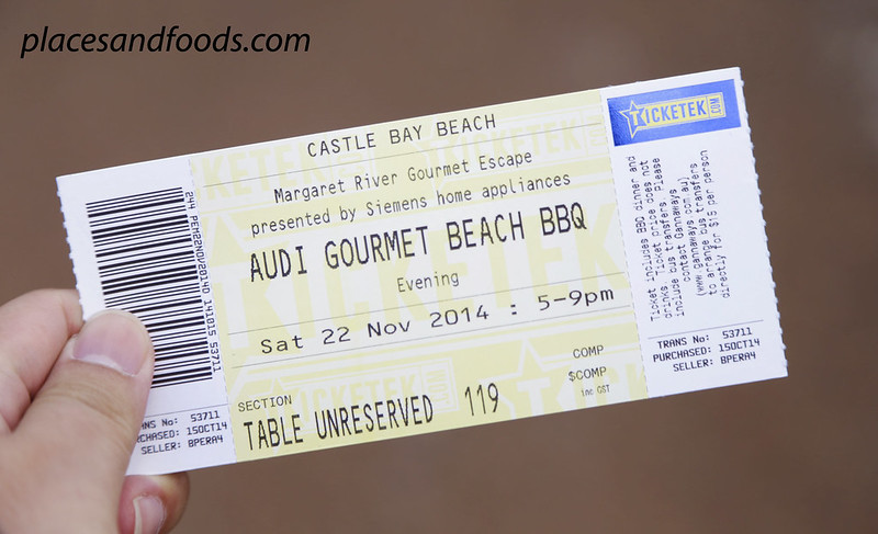 Audi Gourmet Escape BBQ ticket