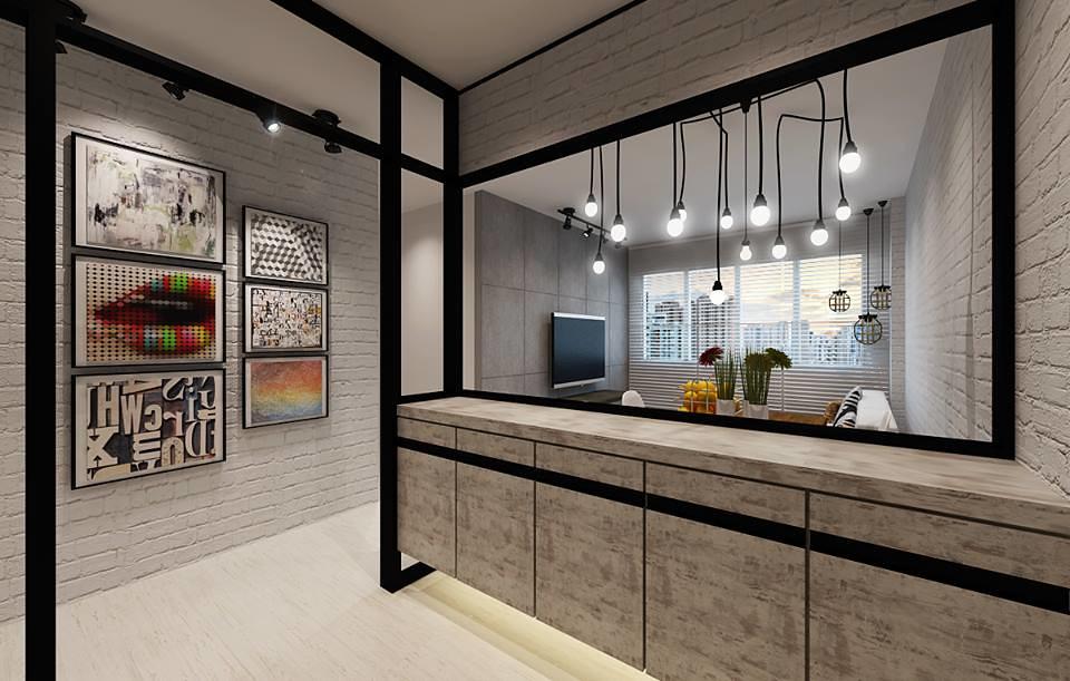 Hdb 4 room bto modern industrial blk 432c yishun for 4 room hdb bto interior design ideas