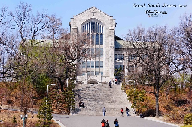 South Korea 2014 - Seoul Ewha Womans University 01