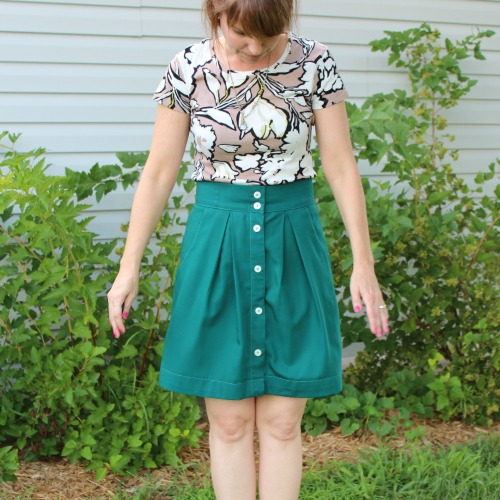 Kelly Skirt Refashion