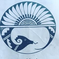 new mexico wellhead protection program logo is a mythic beastie