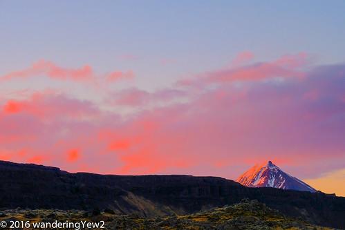 sunset evening iceland alpenglow fujixpro2