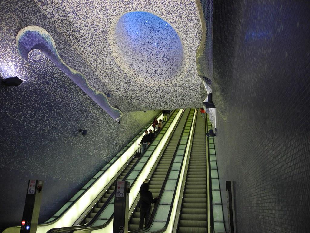 Estación de Metro de Toledo. Nápoles