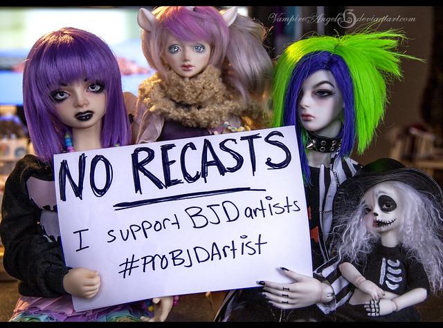 support BJD artists