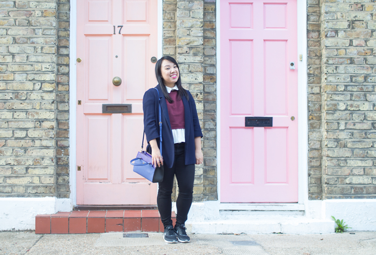 Pink doors columbia road outfit mcm