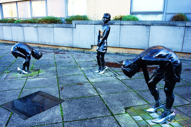 Gorbals Boys, Public Art, Gorbals, Scotland