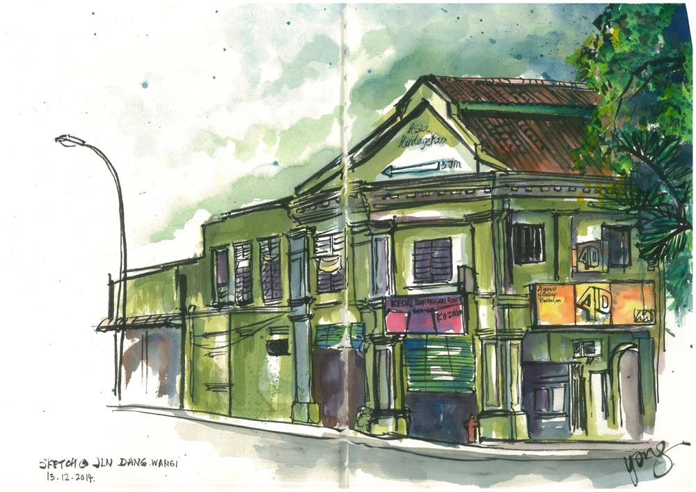 sketch@jalan dang wangi