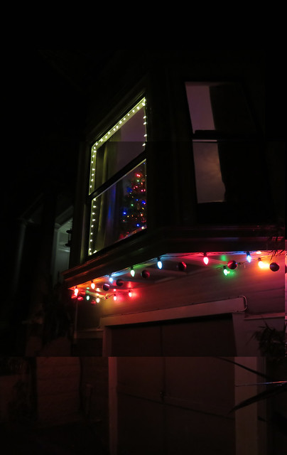 Christmas Lights, Inner Sunset, San Francisco (2014)