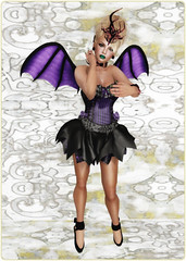 Gothmas by Gaslight 2014 - Dark Water Designs - Skulls and Crossbones Sugarpunk Fairy Dress