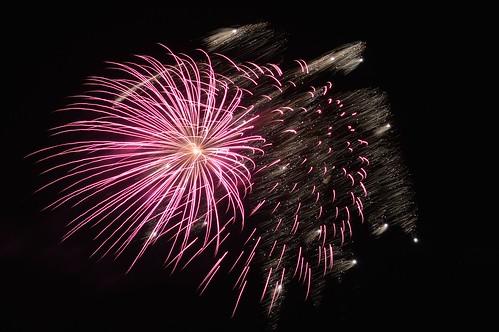 Fireworks at Beaulieu.