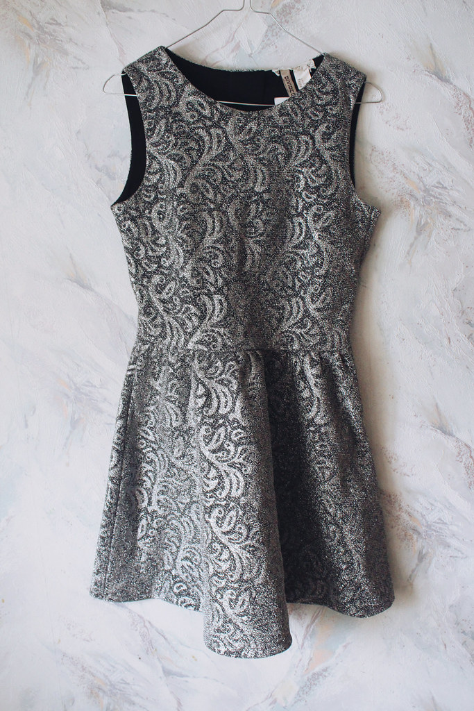 metallic-silver-dress