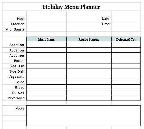 holiday-menu-planner