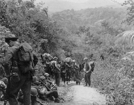Tropas aliadas en Birmania