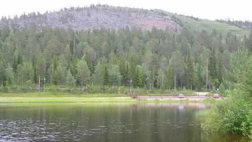 summer lake forest finland landscape geotagged ks july fin salla 2014 koillismaa sallatunturi 201407 20140718 geo:lat=6676510670 geo:lon=2876246452 keselmäjärvi