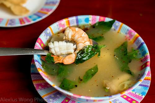 Spicy Seafood Pho Taek