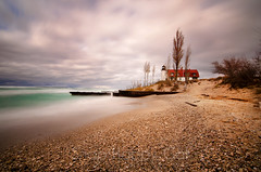 Pt. Betsie Lighthouse - Long Exposure