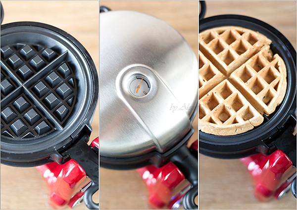 Making Waffle Batter