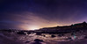 Birling Gap night shoot panoramic