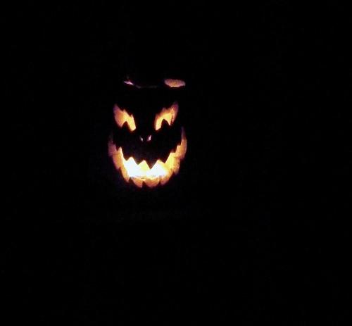 happy halloween grin