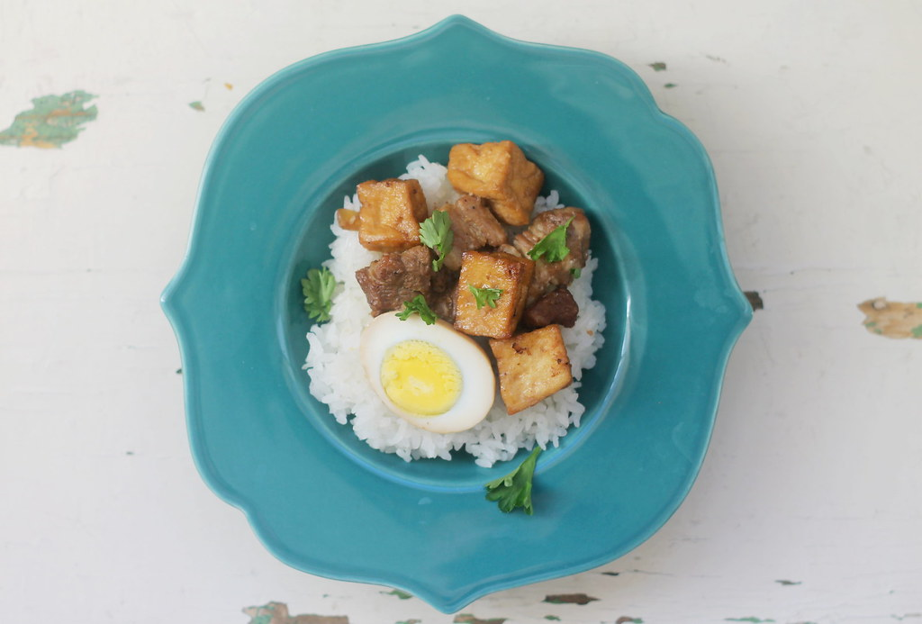 how to cook pork tofu