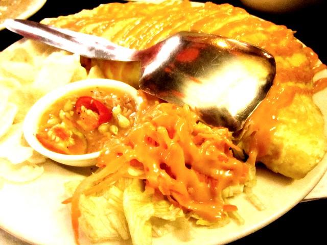 CafeCafe cincaluk fried rice