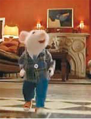 Stuart Little with lost Hungarian painting
