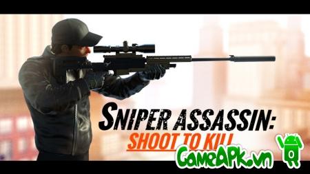 Sniper 3D Assassin v1.13.5 hack full tiền cho Android