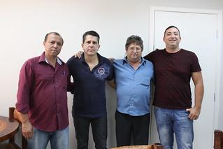 Solidariedade São Paulo recebe os vereadores de Rosana Valtinho e Filomeno de Carlos