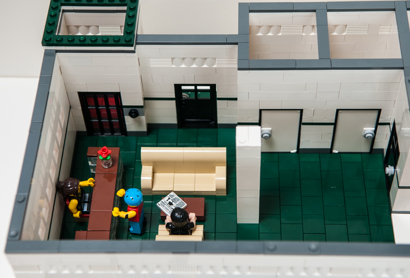First Moc Wip Lord Business Hq With Evil Lair Ldd Lego Town Eurobricks Forums