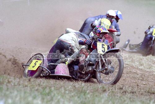 Dave Collin & Keith Goodley 500cc 30.7.95 ledb