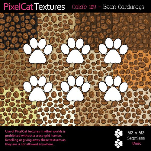PixelCat Textures - Colab 109 - Bean Corduroys