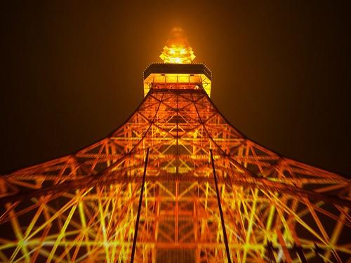 Tokyo Tower lightup