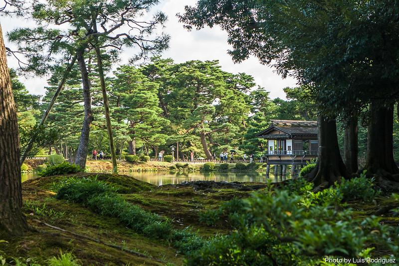 Viajar a jap n los jardines kenrokuen de kanazawa japonismo for Jardin kenrokuen