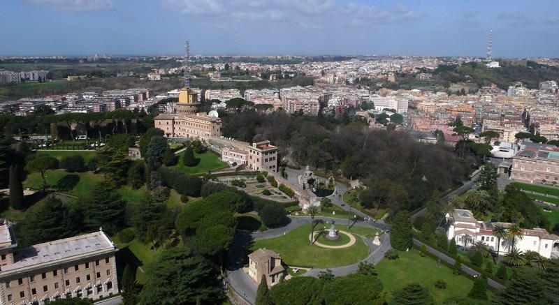Vatican Gardens Rome