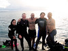 Dive the Blues Scuba Oct 2014, Okinawa, Rescue class graduates