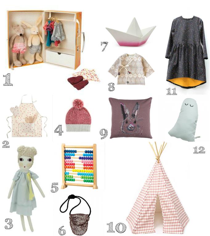 Paul&Paula blog: gift guide toddler girls 2014