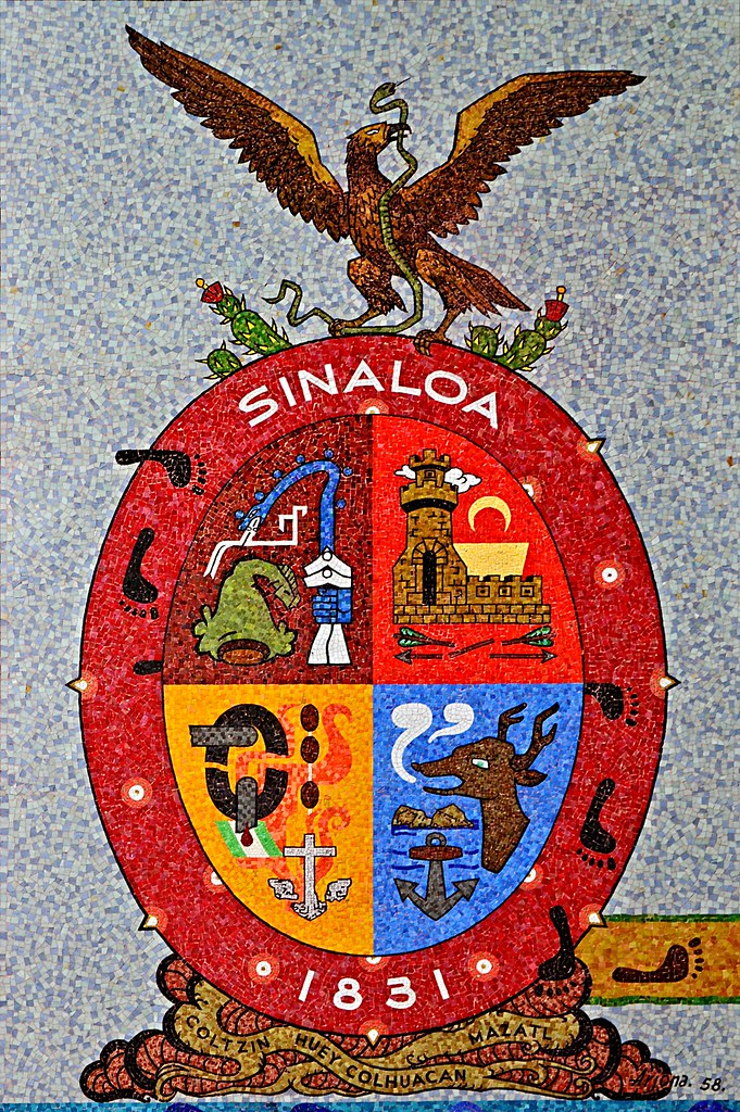 B 29 Inside Coat of Arms of Sinalo...