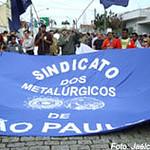 Imagens das paralisações dos metalúrgicos nesta semana