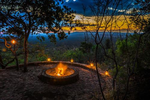 sunset nature clouds southafrica limpopo bushveld mabalingwe mabalingwenaturereserve warthoglodge