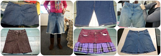 Jeans to Skirt Workshop Nov14