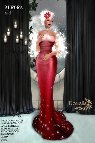 DANIELLE Aurora Red
